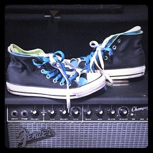 Double Tongue Converse All Star Shoes